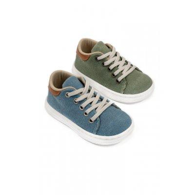 Παπούτσια Babywalker σιέλ για Αγόρι- 3029