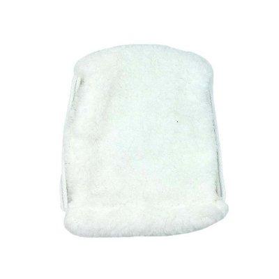 Πουγκί γουνάκι λευκό