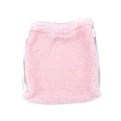 Πουγκί γουνάκι ροζ