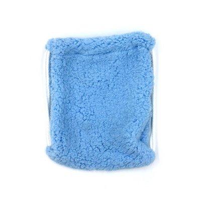 Πουγκί γουνάκι γαλάζιο