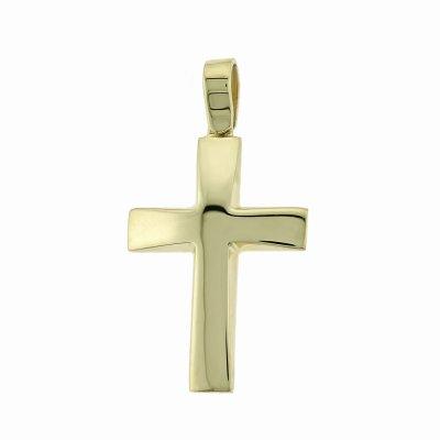 Βαπτιστικός Σταυρός Χρυσός για Αγόρι Κ5ΔΟ.186ΣΤ