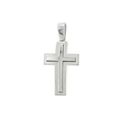 Βαπτιστικός Σταυρός Χρυσός για Αγόρι Κ5ΔΟ.328ΛΣΤ