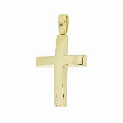 Βαπτιστικός Σταυρός Χρυσός για Αγόρι Κ5ΔΟ.338ΣΤ