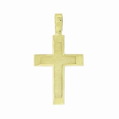 Βαπτιστικός Σταυρός Χρυσός για Αγόρι Κ5ΔΟ.356ΣΤ
