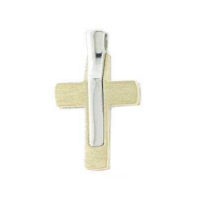 Βαπτιστικός Σταυρός Χρυσός για Αγόρι Κ5ΔΟ.401ΔΣΤ