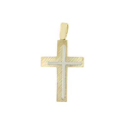 Βαπτιστικός Σταυρός Χρυσός για Αγόρι Κ5ΔΟ.435ΣΤ