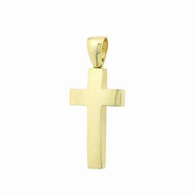Βαπτιστικός Σταυρός χρυσός για Αγόρι Κ5ΛΟΥ.18ΣΤ