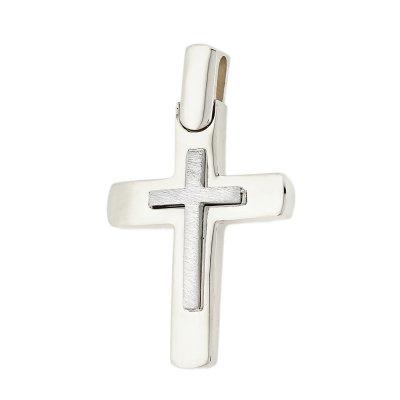 Βαπτιστικός Σταυρός χρυσός για Αγόρι Κ5DO.516BCR