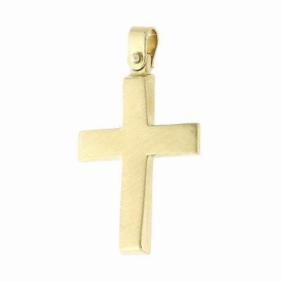 Βαπτιστικός Σταυρός χρυσός για Αγόρι Κ5FM.123SCR