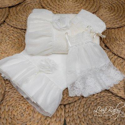 Λαδόπανο Σετ Baby Doll Lina Baby 1480 ιβουάρ
