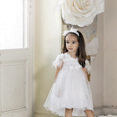 Βαπτιστικό Φόρεμα Stova Bambini AW21G2 χειμώνας 2020 - 2021