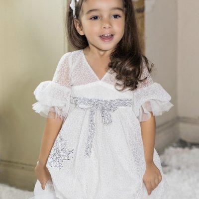 Βαπτιστικό Φόρεμα Stova Bambini AW21G1 χειμώνας 2020 - 2021