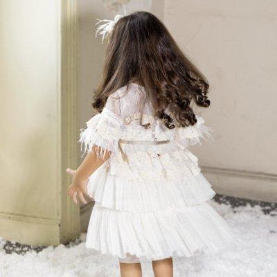Βαπτιστικό Φόρεμα Stova Bambini AW21G4 χειμώνας 2020 - 2021