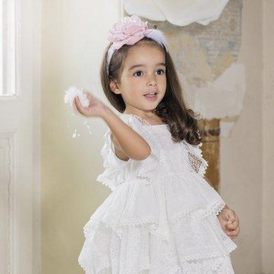 Βαπτιστικό Φόρεμα Stova Bambini AW21G3 χειμώνας 2020 - 2021