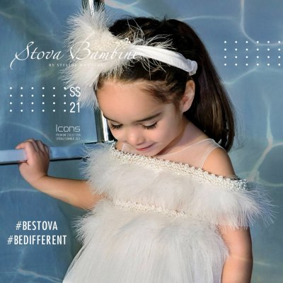 Φόρεμα Esmeralda by Stova Bambini - SS21G12