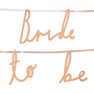 Γιρλάντα Bride to be Bachelor