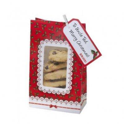 Σακούλες μπισκότων Χριστουγεννιάτικο