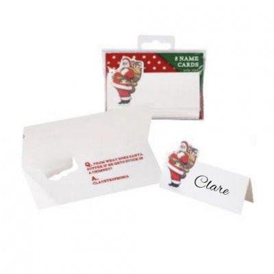 Καρτάκια ονομάτων Χριστουγεννιάτικο