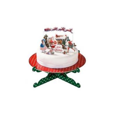 Διακοσμητικά τούρτας Χριστουγεννιάτικο
