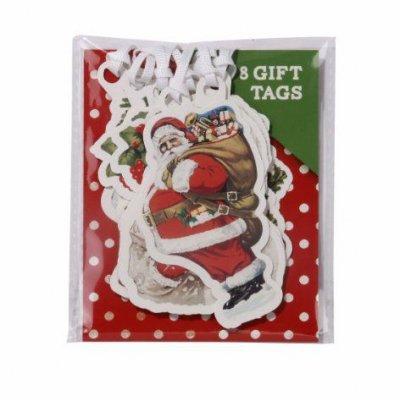 Καρτελάκια δώρου Χριστουγεννιάτικο