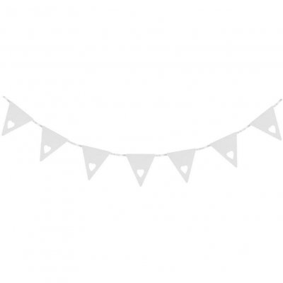 Σημαιάκια καρδούλες Γαμήλιο