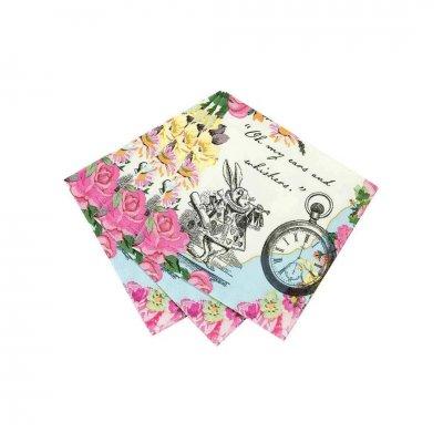 Χαρτοπετσέτες πολύχρωμες Alice