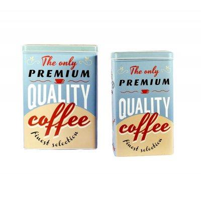 Διακοσμητικά κουτάκια coffee Σετ 2 τεμαχίων