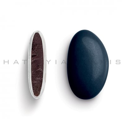 Κουφέτα Bijoux Supreme μπλέ σκούρο γυαλισμένο Χατζηγιαννάκη 1 kg