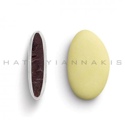Κουφέτα Bijoux Supreme κίτρινο ματ Χατζηγιαννάκη 1 kg