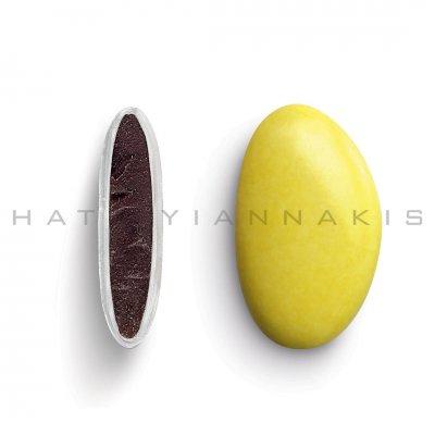 Κουφέτα Bijoux Supreme κίτρινο γυαλισμένο Χατζηγιαννάκη 1 kg
