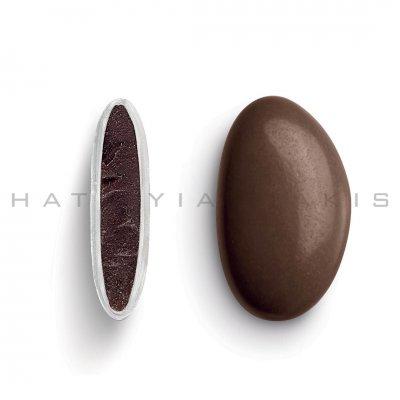 Κουφέτα Bijoux Supreme καφέ σοκολατί γυαλισμένο Χατζηγιαννάκη 1 kg