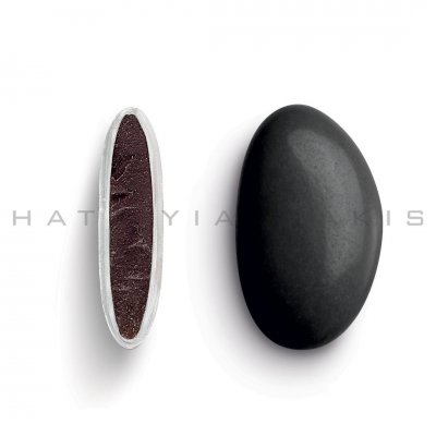 Κουφέτα Bijoux Supreme μαύρο γυαλισμένο Χατζηγιαννάκη 1 kg