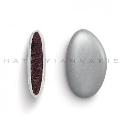 Κουφέτα Bijoux Supreme ασημί μεταλλιζέ Χατζηγιαννάκη 1 kg