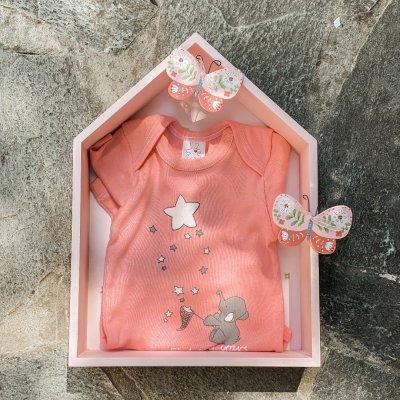 Φορμάκι εσώρουχο για κοριτσάκι με σπιτάκι πεταλούδα