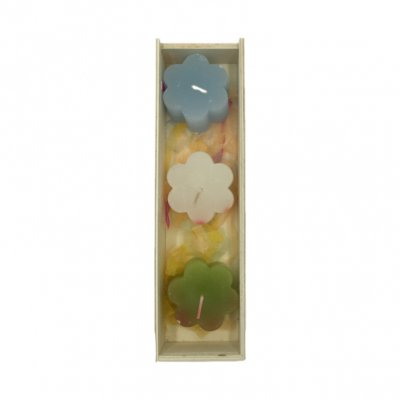 Χειροποίητο κουτί κασετίνα Happy Mother's Day με αρωματικά κεράκια