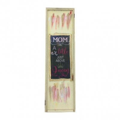 Χειροποίητο κουτί κασετίνα Mom-Queen αρωματικά κεράκια