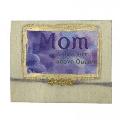 Βραχιόλι με μαγνητάκι Mom-Queen