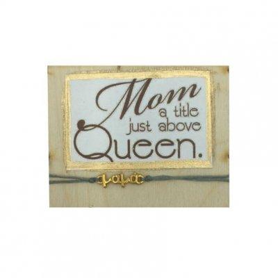Βραχιόλι με μαγνητάκι Mum-Queen
