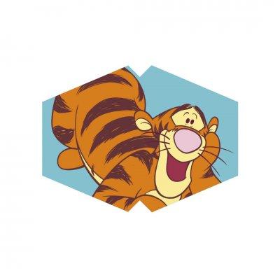 Μάσκα προσώπου παιδική τίγρης