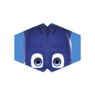 Μάσκα προσώπου παιδική πιτζαμοήρωας μπλέ