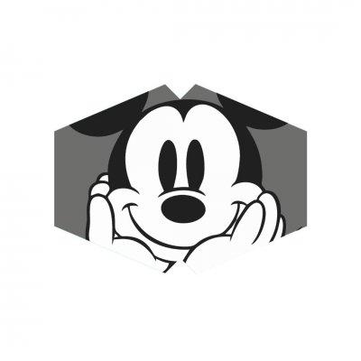 Μάσκα προσώπου παιδική ποντικός γκρι