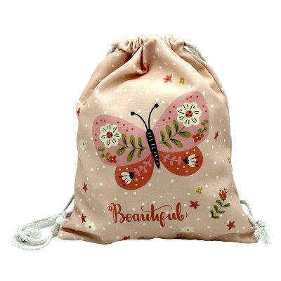 Φορμάκι εσώρουχο για κοριτσάκι με τσαντάκι πλάτης πεταλούδα