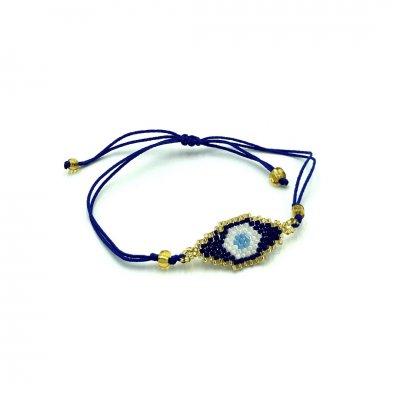 Βραχιόλι Μάτι γαλάζιο