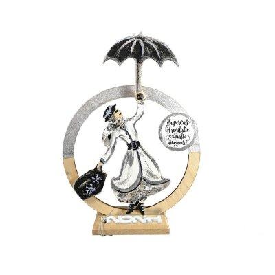 Γούρι Mary Poppins σε βάση