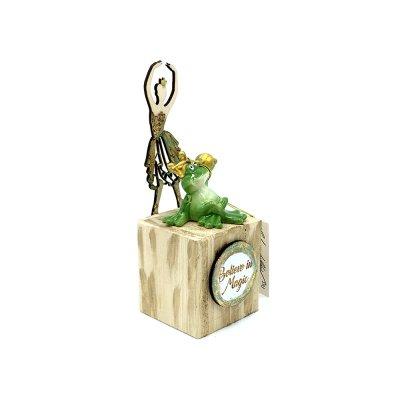 Γούρι πρίγκηπας βάτραχος σε κύβο