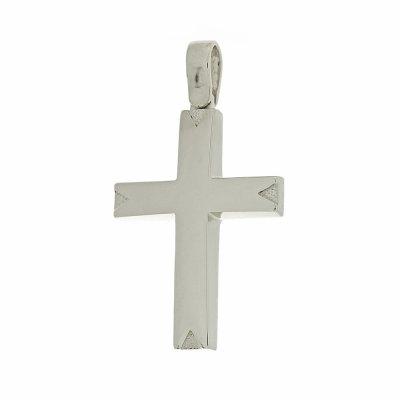 Βαπτιστικός Σταυρός Χρυσός για Αγόρι Κ5ΔΟ.353ΛΣΤ