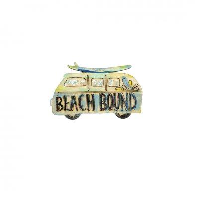 Μπομπονιέρα Βανάκι Beach Bound ξύλινο κρεμαστό