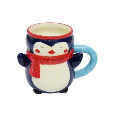 Κούπα χριστουγεννιάτικη πιγκουϊνος
