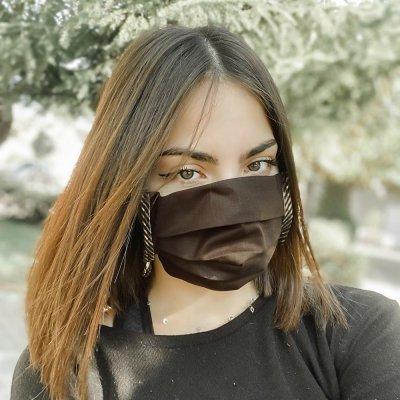 Μάσκα προσώπου χρυσές φάσες