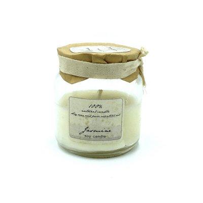 Αρωματικό κερί σε βαζάκι γιασεμί